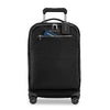 Briggs & Riley Rhapsody Tall Carry-On Spinner in Black front view