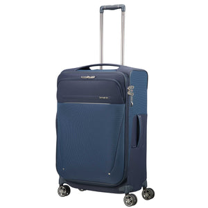 Samsonite B-Lite Icon Spinner Medium Expandable in colour Navy - Forero's Vancouver Richmond