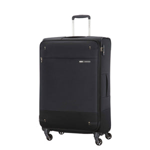 Samsonite Base Boost Large Spinner in Black front view