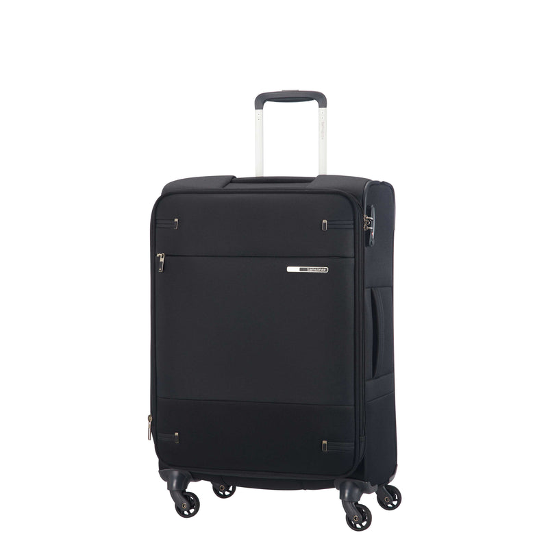 Samsonite Base Boost Spinner Medium Expandable in Black front view