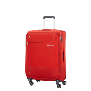 Samsonite Base Boost Spinner Medium Expandable in Red front view