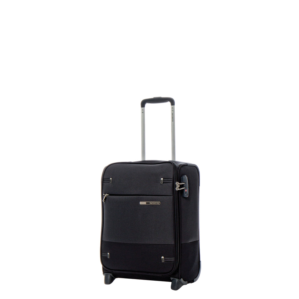 Samsonite Base Boost Underseater 2 Wheeled in Black front view