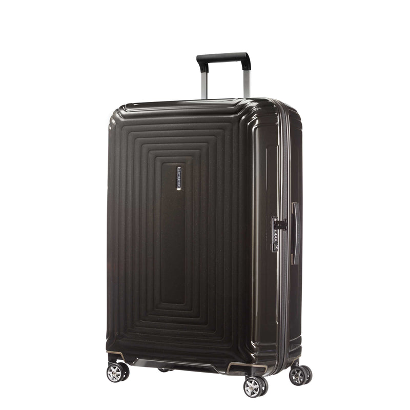 "Samsonite Neopulse Spinner Large 28"" in Metallic Red front view"