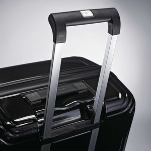 "Samsonite Neopulse Spinner Large 28"" in Metallic Black pull handle"