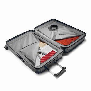 "Samsonite Neopulse Spinner Large 28"" in Metallic Black inside view"