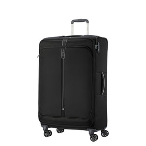 Samsonite Popsoda Spinner Large Expandable in Black front view