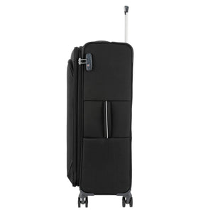 Samsonite Popsoda Spinner Large Expandable in Black side view