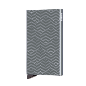 Secrid Wallets Cardprotector Laser Structure Titanium Forero's Bags and Luggage