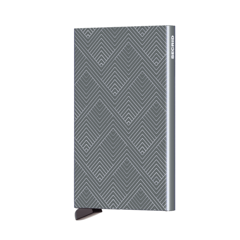 Secrid Wallets Cardprotector Laser Structure in Titanium - Forero's Vancouver Richmond