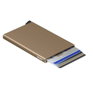 Secrid Wallets Cardprotector in colour Sand - Forero's Bags and Luggage