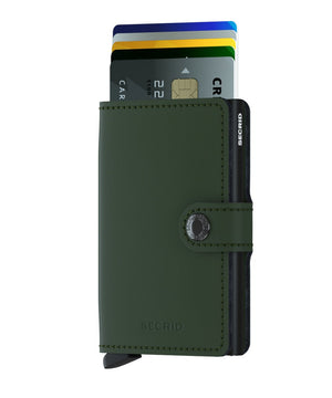 Miniwallet Matte - Green - Forero's Bags and Luggage