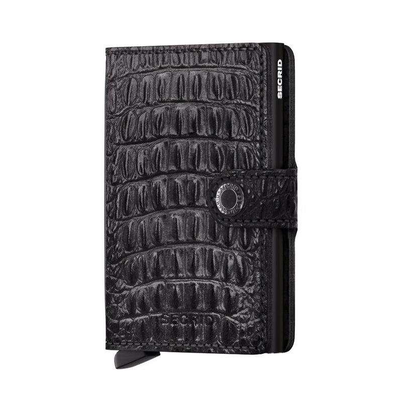 Secrid Wallets Miniwallet Nile in Black - Forero's Vancouver Richmond