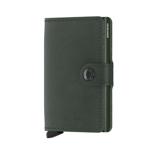 Secrid Wallets Miniwallet Original in colour Green - Forero's Bags and Luggage Vancouver Richmond