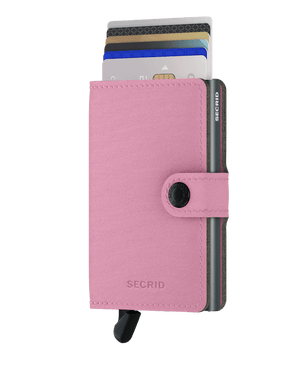 Secrid Wallets Miniwallet Yard in colour Rose - Forero's Bags and Luggage Vancouver Richmond