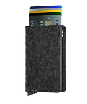 Slimwallet Crisple - Black - Forero's Bags and Luggage