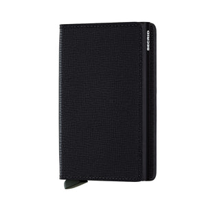 Secrid Wallets Slimwallet Crisple in Black - Forero's Vancouver Richmond