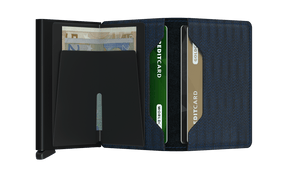Slimwallet Dash - Navy - Forero's Bags and Luggage