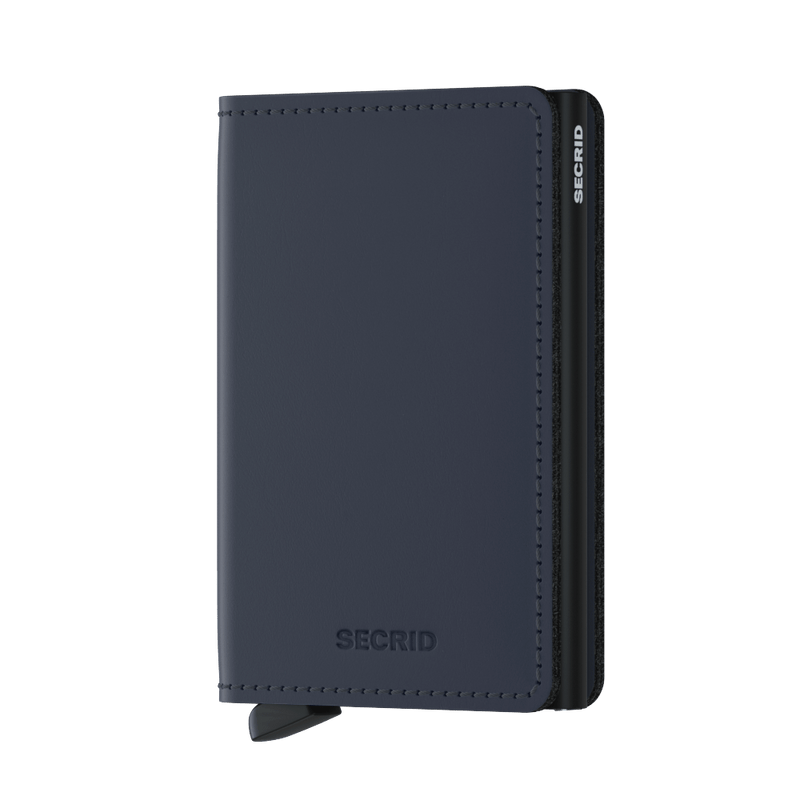 Secrid Wallets Slimwallet Matte in Night Blue - Forero's Vancouver Richmond