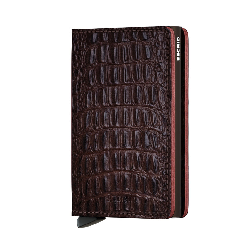 Secrid Slimwallet Nile Brown - front