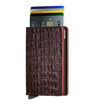 Slimwallet Nile - Brown - Forero's Bags and Luggage