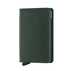Secrid Wallets Slimwallet Original in colour Green - Forero's Bags and Luggage Vancouver Richmond