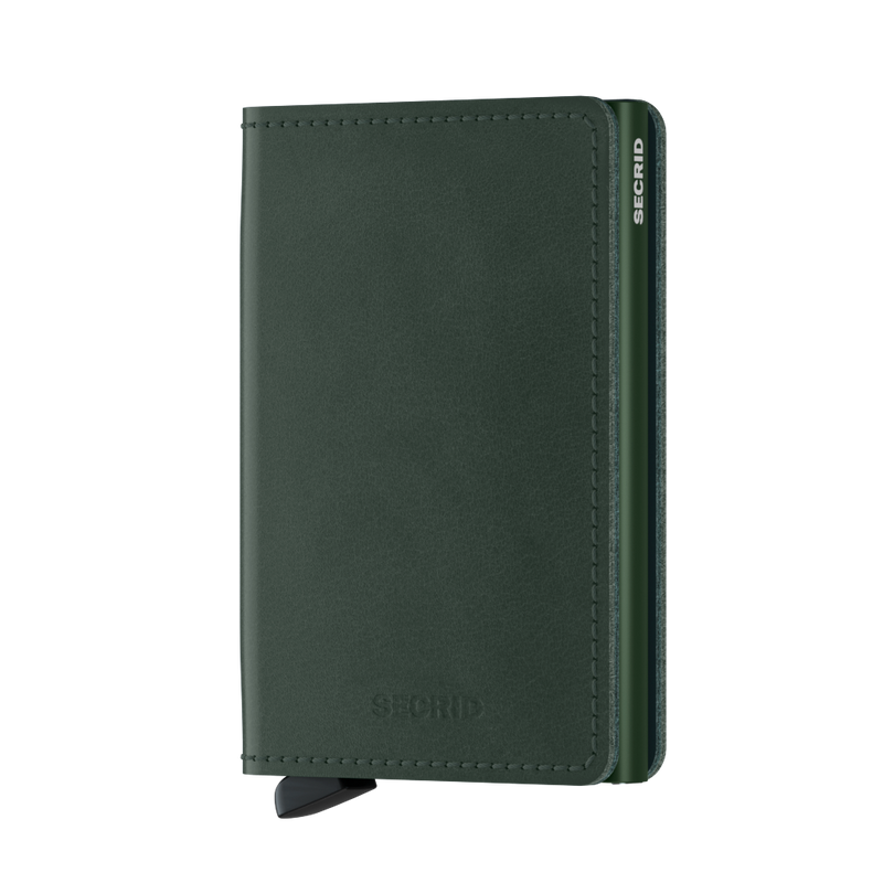 Secrid Slimwallet Original Green - front