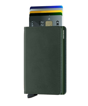 Slimwallet Original - Green - Forero's Bags and Luggage