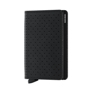 Secrid Wallets Slimwallet Perforated in Black - Forero's  Vancouver Richmond