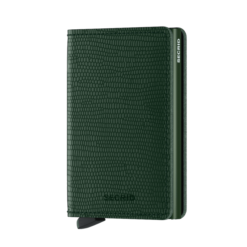 Secrid Wallets Slimwallet Rango in colour Green - Forero's Bags and Luggage Vancouver Richmond