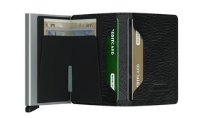 Slimwallet Stitch Linea - Black - Forero's Bags and Luggage