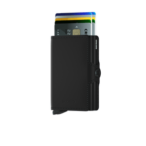 Secrid Twinwallet Matte Black - cards up