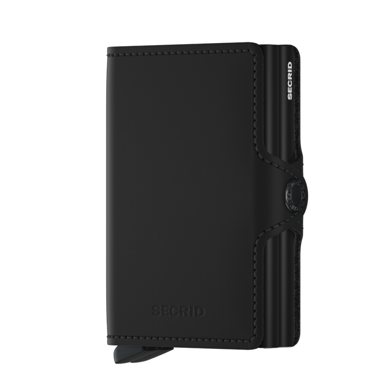 Secrid Wallets Twinwallet Matte in Black - Forero's Vancouver Richmond
