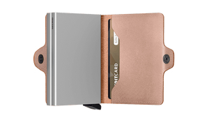 Secrid Wallets Twinwallet Metallic in colour Rose - Forero's Bags and Luggage Vancouver Richmond