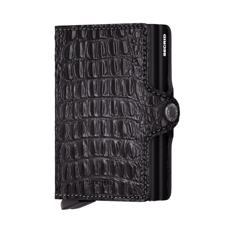 Secrid Wallet Twinwallet Nile in Black - Forero's Vancouver Richmond