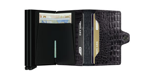 Twinwallet Nile - Black - Forero's Bags and Luggage