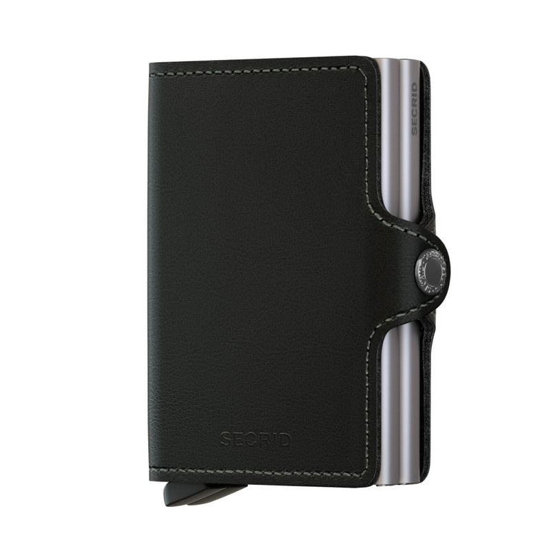 Secrid Wallets Twinwallet Original in Black - Forero's Vancouver Richmond