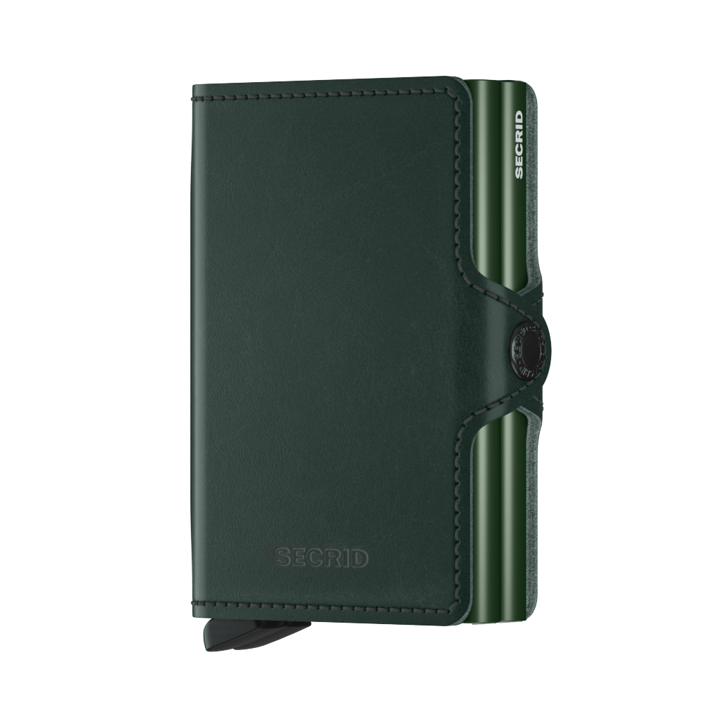 Secrid Wallets Twinwallet Original in Green - Forero's Vancouver Richmond