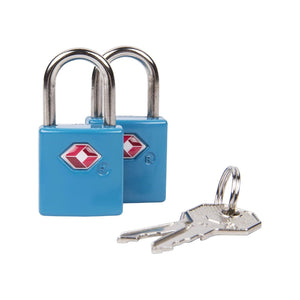 Travelon Accessories Padlock Set in colour Blue - Forero's Bags and Luggage Vancouver Richmond