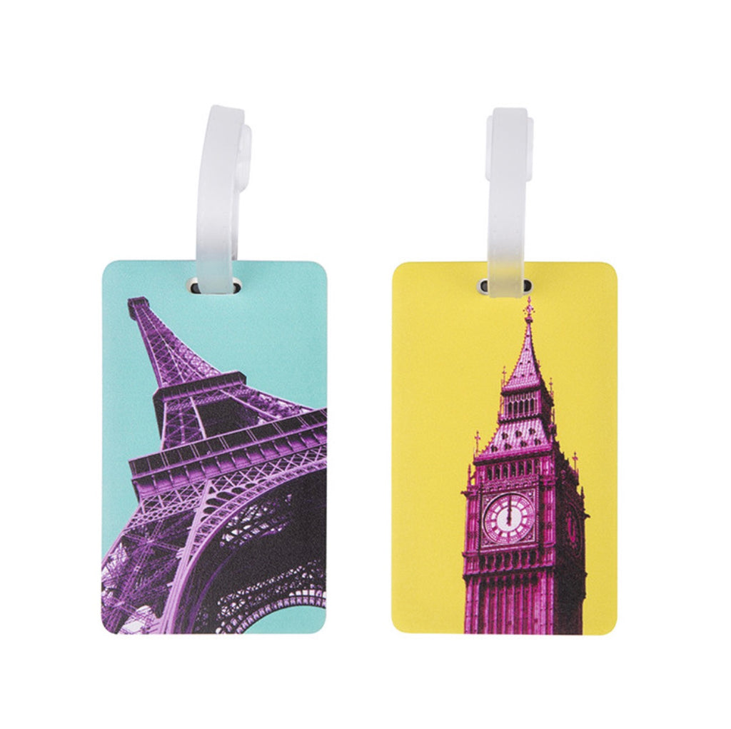 Travelon Set of 2 Luggage Tags - Paris & London - Forero's Vancouver Richmond
