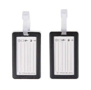 Set of 2 Luggage Tags - Paris & London - Forero's Bags and Luggage