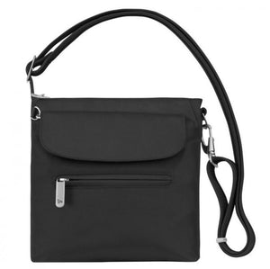 Travelon Anti-Theft Classic Mini Shoulder Bag in colour Black - Forero's Bags and Luggage Vancouver Richmond