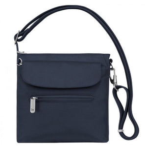 Travelon Anti-Theft Classic Mini Shoulder Bag in colour Midnight - Forero's Bags and Luggage Vancouver Richmond
