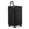 Briggs & Riley Baseline Extra Large Expandable Trunk Spinner in Black side view