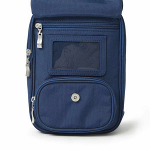 Baggallini RFID Journey Crossbody in Pacific ID window