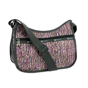 LeSportsac Women's Classic Hobo Bag in Sprinkle Texture front view