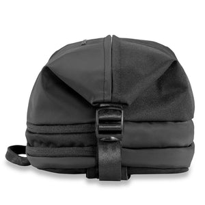 Briggs & Riley Delve Crossbody Sling in Black side view