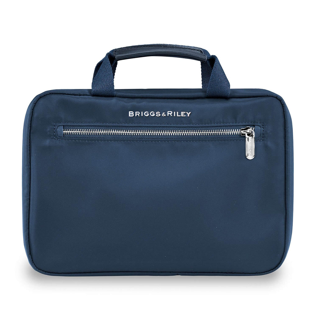 Briggs & Riley Rhapsody Hanging Toiletry Kit in Navy front view