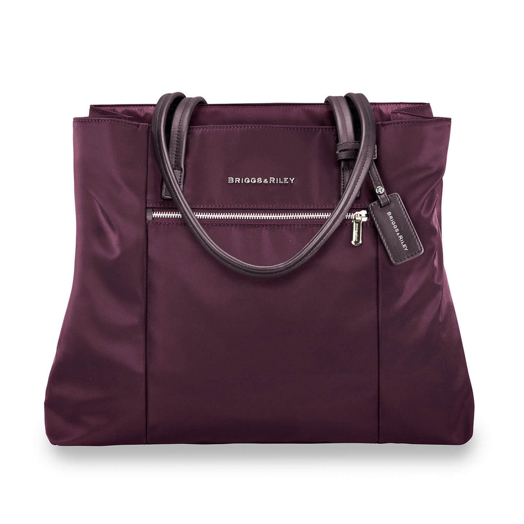 Briggs & Riley Rhapsody Essential Tote in Plum front view