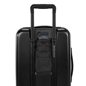 Briggs & Riley Sympatico International Carry-On Expandable Spinner in Black rear pocket