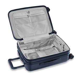 Briggs & Riley Sympatico International Carry-On Expandable Spinner in Navy inside view